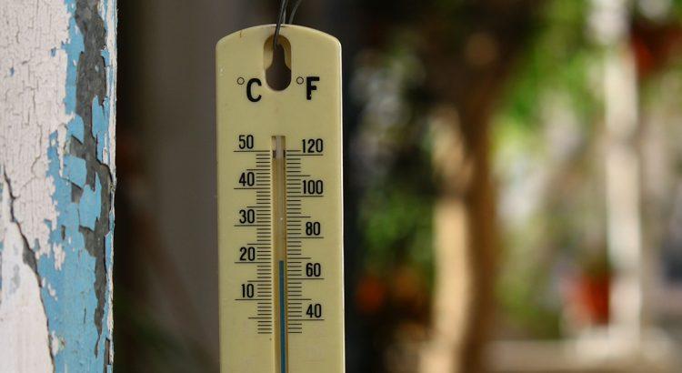 Termometr wiszący