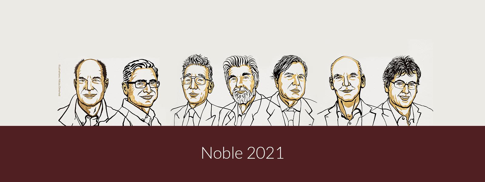 Sylwetki noblistów 2021 z medycyny, fizyki oraz chemii